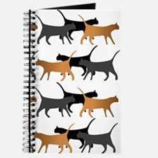 Procession Of Cats Pattern Journal