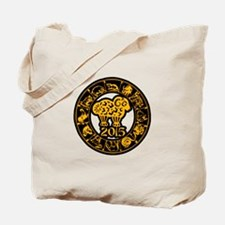Chinese Zodiac New Year 2015 Tote Bag