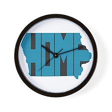 Iowa Home Wall Clock