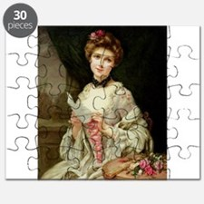 Society Lady With Love Letter Puzzle