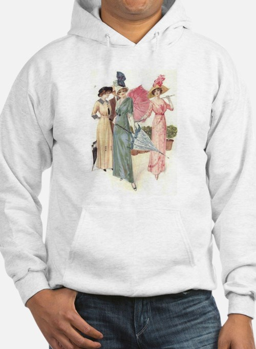 Triad Of Edwardian Ladies Hoodie