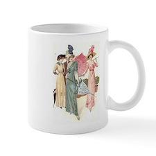 Triad Of Edwardian Ladies Small Mug