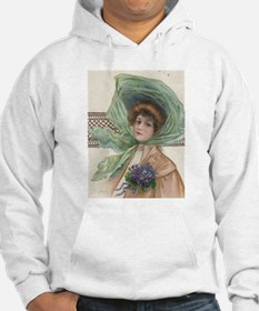 Edwardian Riding Lady Hoodie