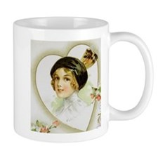 Flapper With A Feather (Or Two) In Her Cap Mug