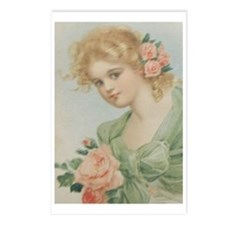 Flowers And Romance For Every Girl Postcards (Pack