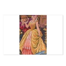 Rococo Tapestry Cut Postcards (Package of 8)