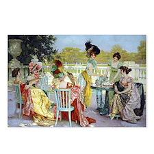 Regency Ladies Tea Party Postcards (Package of 8)