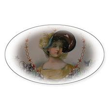 Regency Lady in Portrait Decal