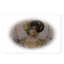 Regency Lady in Portrait Postcards (Package of 8)