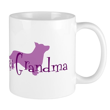 C. Corgi Grandma Mug