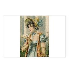 Regency Girl Postcards (Package of 8)