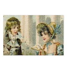 Regal Regency Couple Postcards (Package of 8)