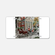 Southern Romantic Drive Aluminum License Plate