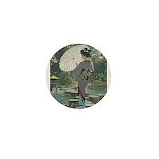 geisha 2 Mini Button (100 pack)