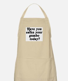 gumbo today BBQ Apron