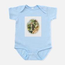 Portrait colonial love 51 Infant Bodysuit