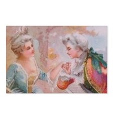 Colonial Love 4 Postcards (Package of 8)