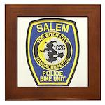 Salem Bike Police Framed Tile