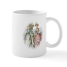 Portrait Of Victorian Duo Mug
