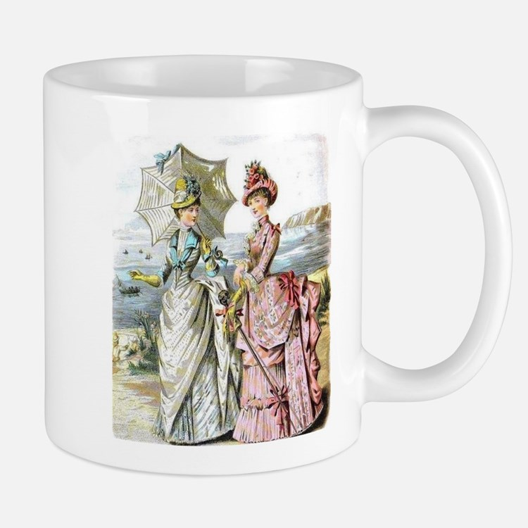 Duo of Victorian Ladies Mug