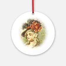 Portrait And Aristocratic Ornament (Round)