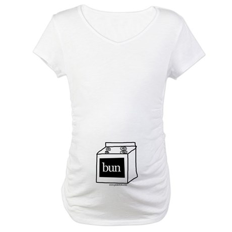 Bun in the Oven 2 (belly) Maternity T-Shirt