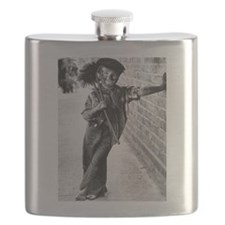 Victorian Chimney Sweep Flask