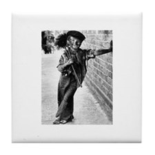 Victorian Chimney Sweep Tile Coaster