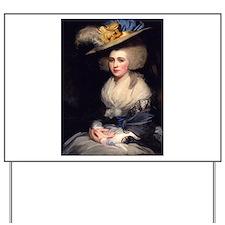 18th Century Portrait of Abigail Adams Yard Sign