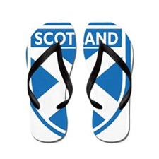 Cute Scotland Flip Flops