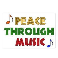 Peace Through Music Postcards (Package of 8)