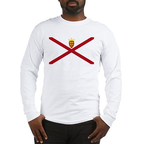 Jersey flag Long Sleeve T-Shirt