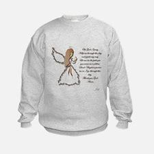 Life is fragile Angel Sweatshirt