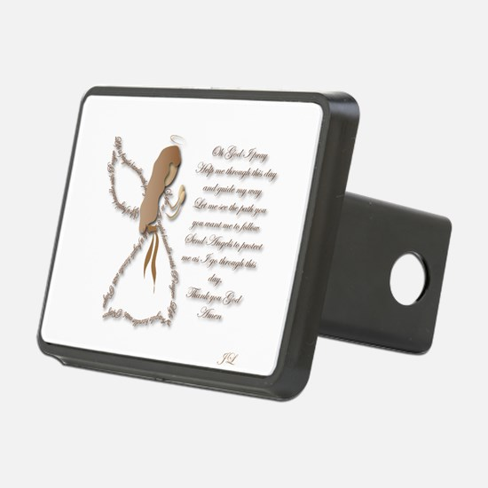 Life is fragile Angel Hitch Cover