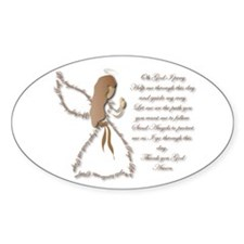 Life is fragile Angel Decal