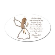 Life is fragile Angel Wall Decal