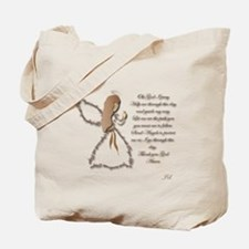 Life is fragile Angel Tote Bag