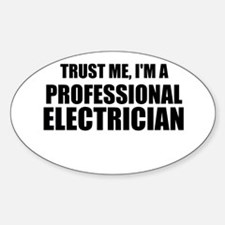 Trust Me, I'm A Professional Electrician Decal
