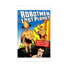Robotmen Of The Lost Planet Sticker (rectangle)