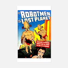 Robotmen Of The Lost Planet Sticker (rectangle)