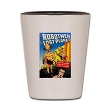 Robotmen of the Lost Planet Shot Glass