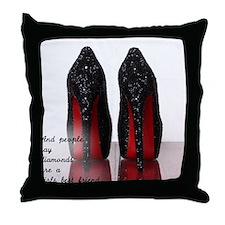 Cute High heels Throw Pillow