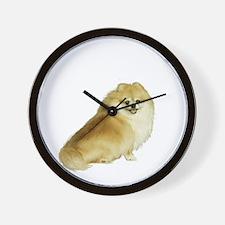 Pomeranian (WolfSble) Wall Clock
