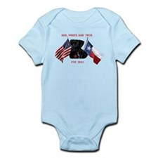 RED, WHITE AND TRUE Infant Bodysuit