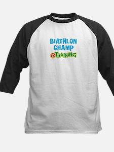 Biathlon champ in training Tee