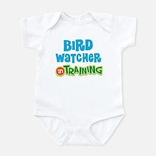Bird watcher in training Infant Bodysuit