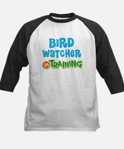 Bird watcher in training Kids Baseball Jersey