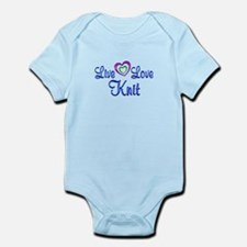 Live Love Knit Infant Bodysuit