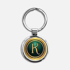 Irish Luck K Keychains