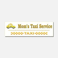 Moms Taxi Service - Car Magnet 10 X 3
